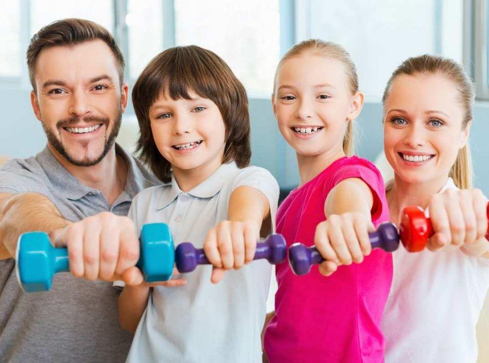 родители юных спортсменов